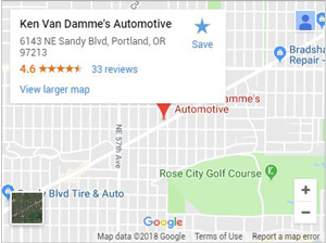 Ken Van Damme's Automotive on Google Maps